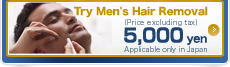 Try Men's Hair Removal