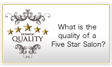 What is the quality of a Five Star Salon?