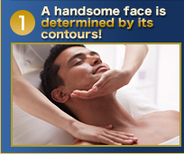 A handsome face is determined by its contours!